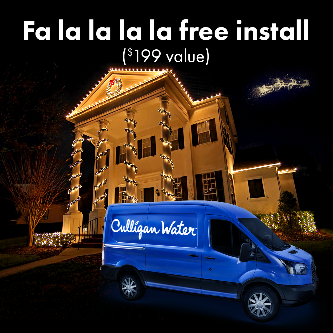 free install on any water system